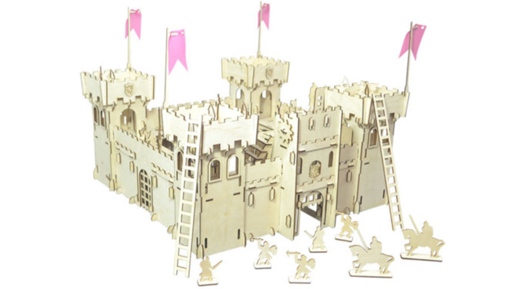 Деревянные дома и парковки.: КОНСТРУКТОР «ЧУДО-КРЕПОСТЬ» в Игрушки Сити