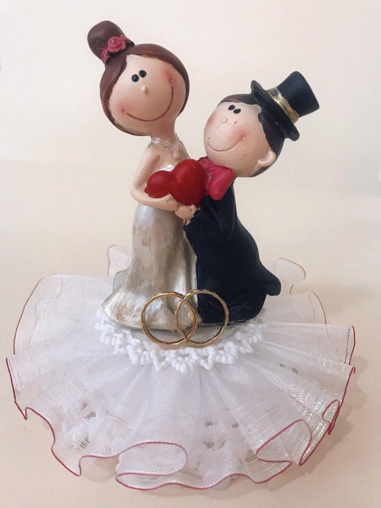Несъедобные украшения: Фигурка свадебная ( с ребенком) в ТортExpress