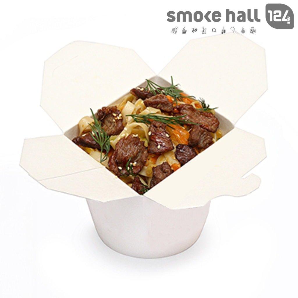 Лапша WOK: Лапша с телятиной, грибами и овощами в Restorant SH