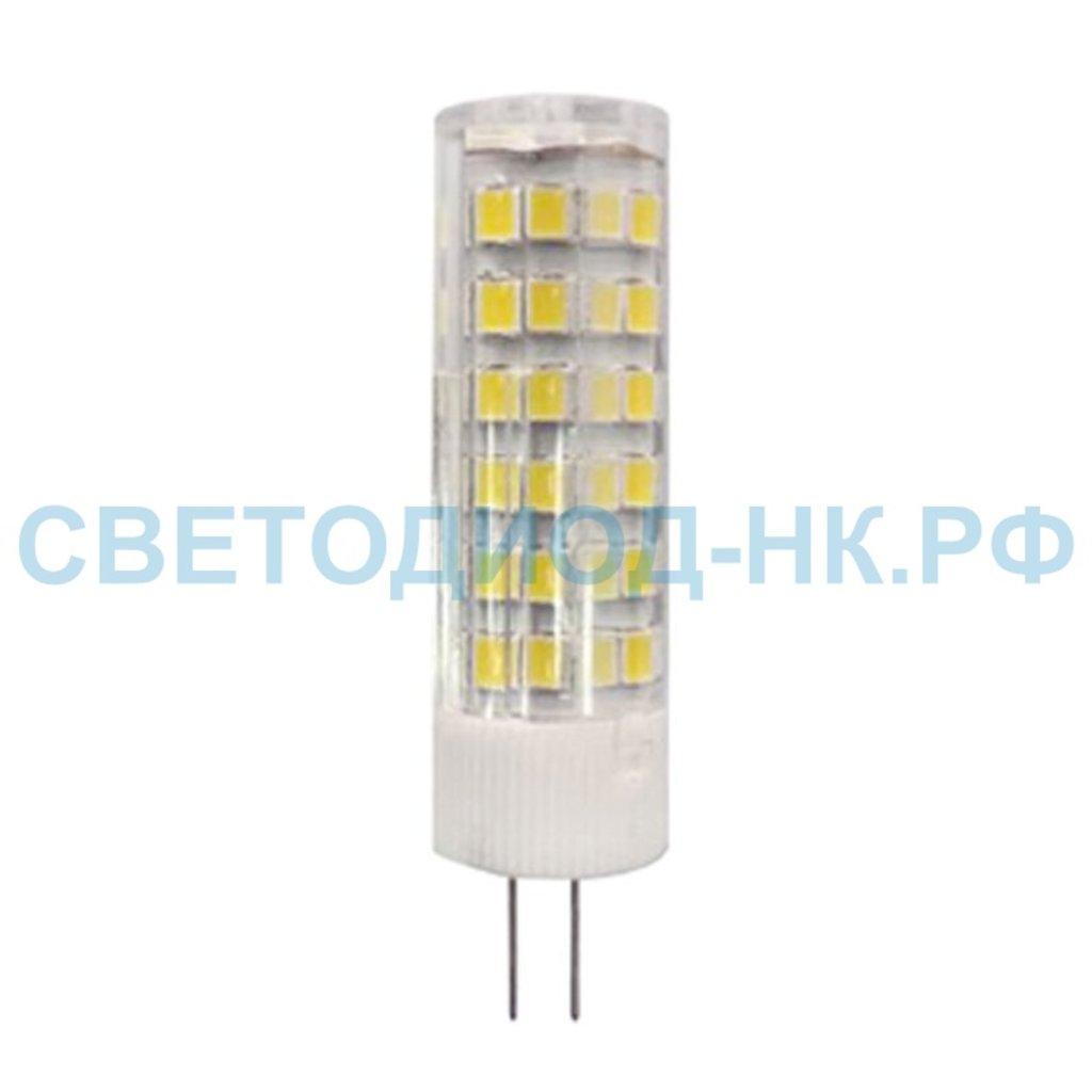 Цоколь G4, MR11, GY6.35: LED-JC  7W 230V G4 4000K LB-433 в СВЕТОВОД