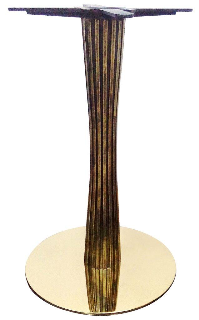 Подстолья для столов.: Подстолье 1270ЕМ (хром золото) в АРТ-МЕБЕЛЬ НН