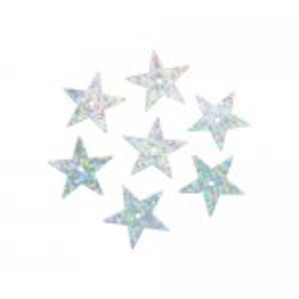 Звездочки: Пайетки звездочки,20мм.,упак/10гр.Астра(цвет:50112 серебро голограмма) в Редиант-НК