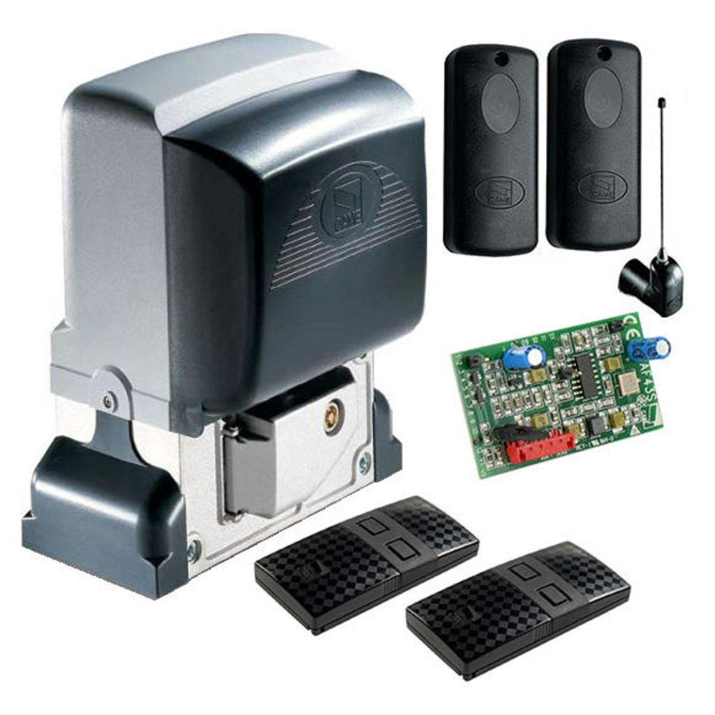 Автоматика для откатных ворот: Комплект BX-64+ DIR10 для автоматизации откатных ворот в Автоворота71