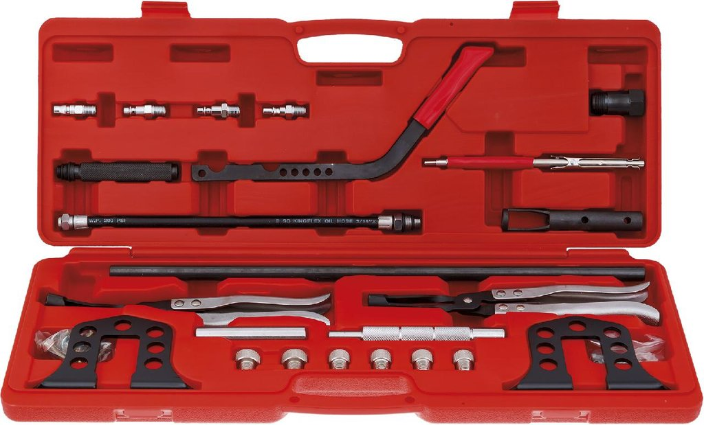 Инструмент для ремонта и диагностики двигателя: KA-6568K рассухариватель клапанов с насадками в Арсенал, магазин, ИП Соколов В.Л.