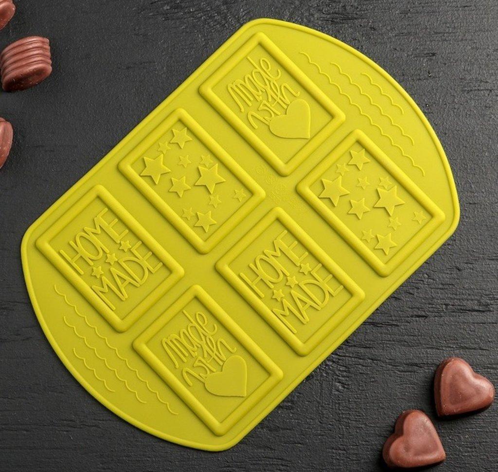 Силиконовые формы для льда, шоколада и мармелада: Форма для льда и шоколада Home made, 6 ячеек в ТортExpress