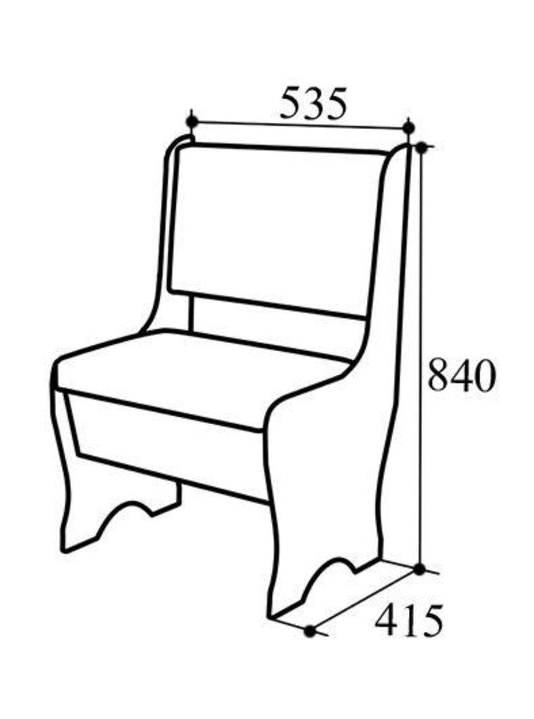 Кухонные скамьи: Скамья СК-16 М в Уютный дом