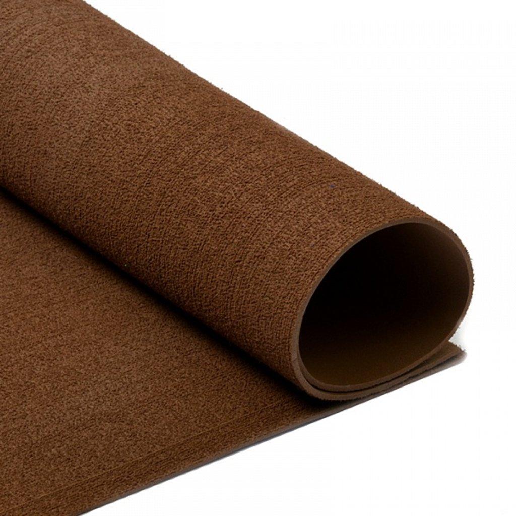 Фоамиран: Фоамиран махровый 2мм 20*30см коричневый, 1 лист в Шедевр, художественный салон