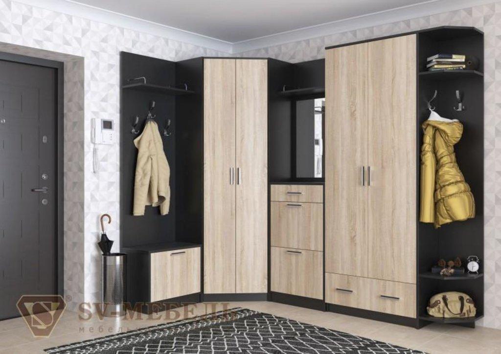 Мебель для прихожей Консул 2: Вешалка с обувницей Консул 2 в Диван Плюс