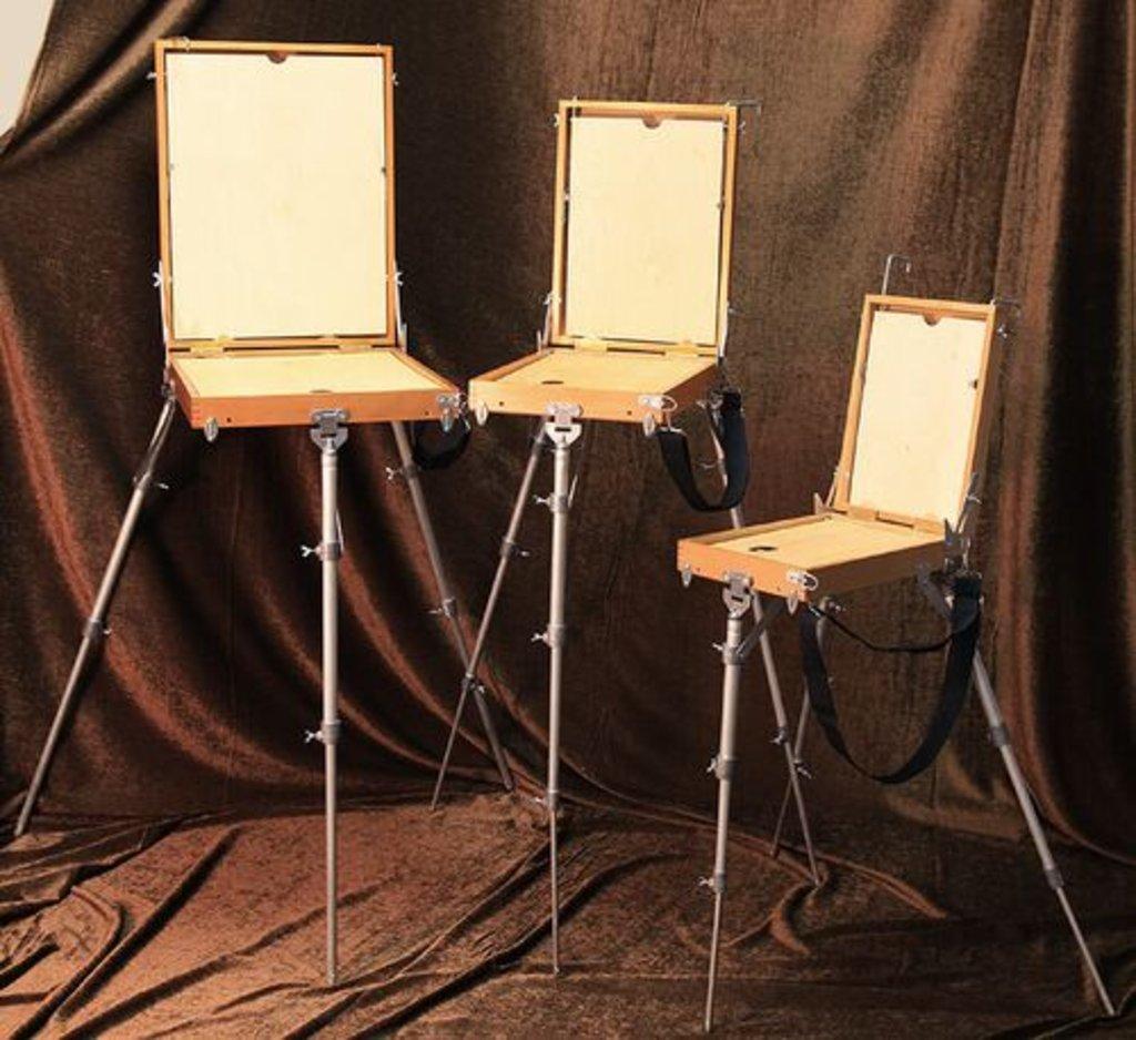 Этюдники, ящики для пленера: Этюдный ящик 15 В 2 (береза) 305 x 415 x 85мм вес - 3530 гр в Шедевр, художественный салон
