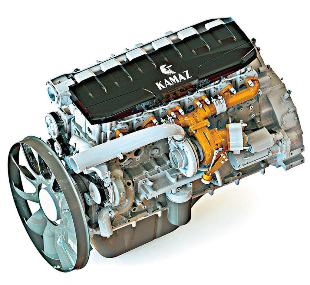 Запчасти для грузовиков Камаз: Двигатель Камаз в Автодизель, ООО
