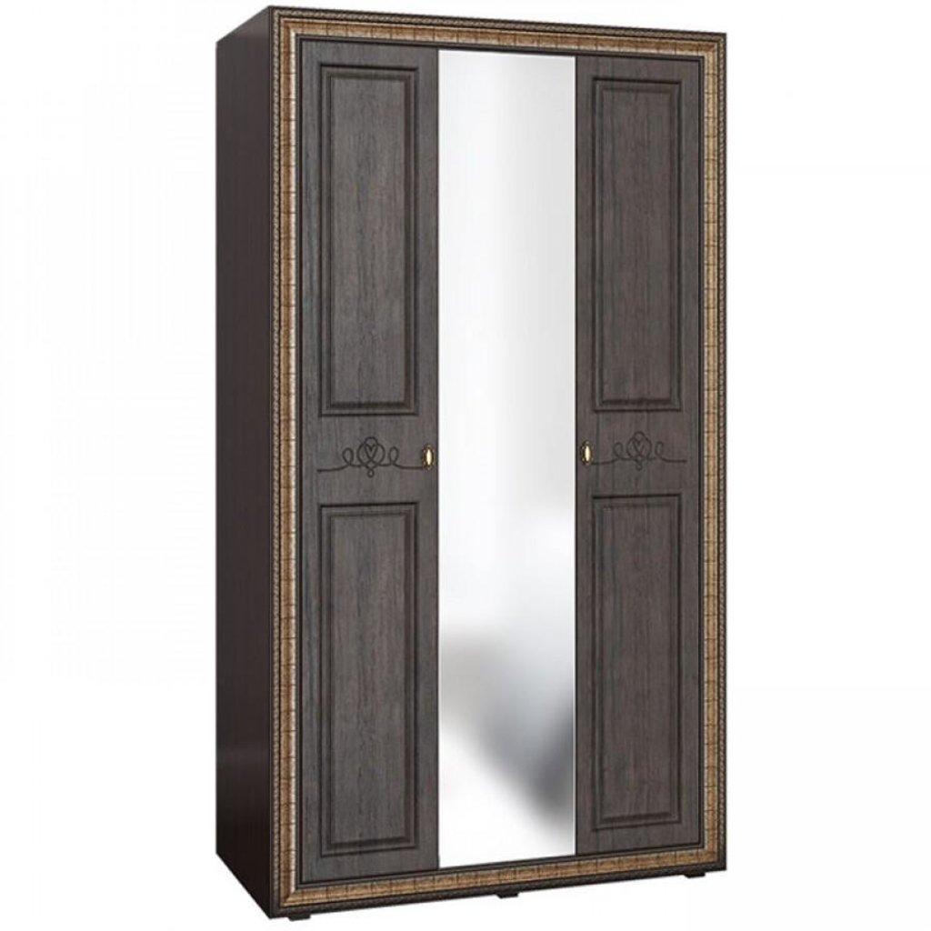 Спальня Версаль. Доступные модули: Шкаф 3-х створчатый с зеркалом Версаль ВР-110 (2280х1240х594) в Уютный дом