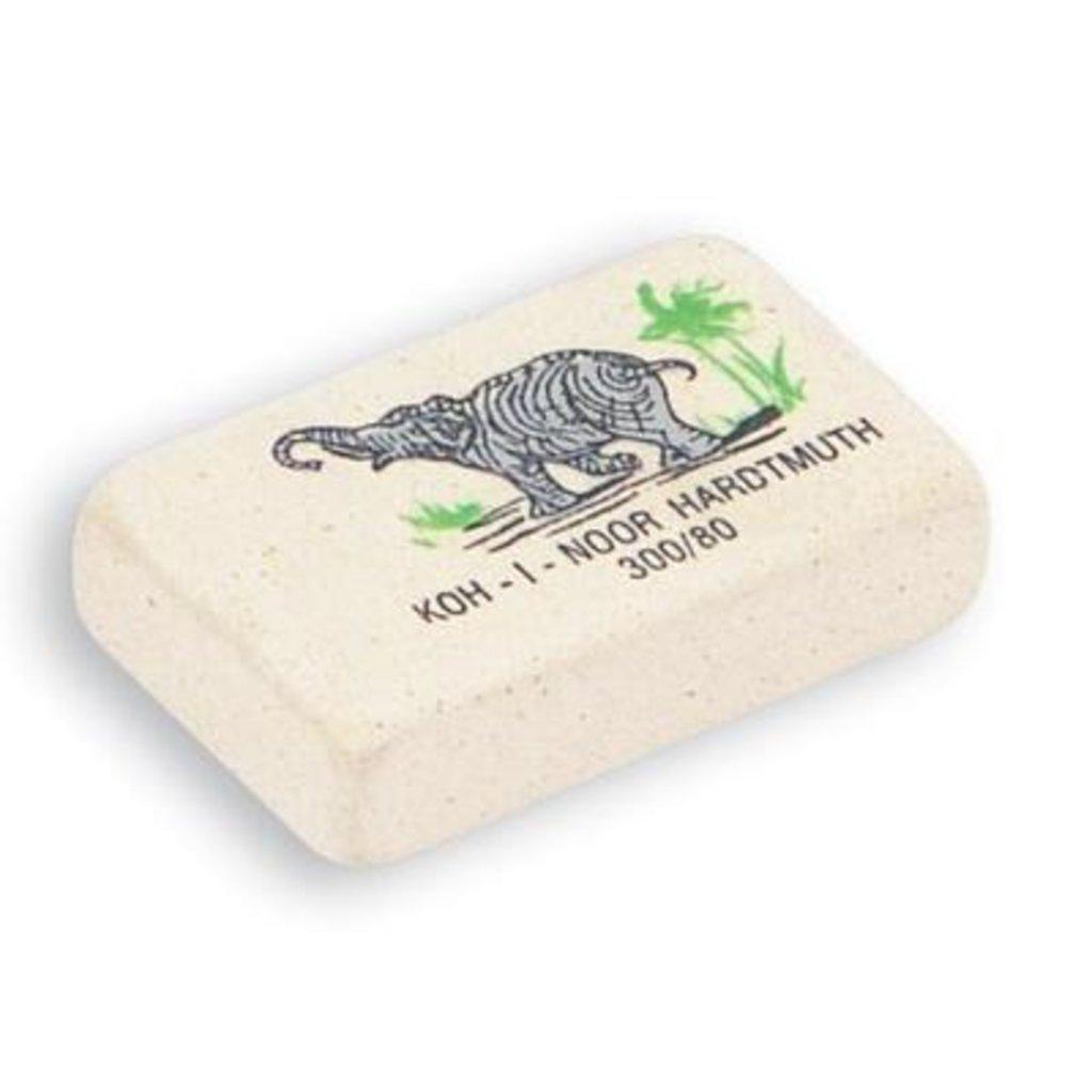 Ластики, точилки: Ластик Elephant 300/80,каучук, 25*19*8мм KOH-I-NOR в Шедевр, художественный салон
