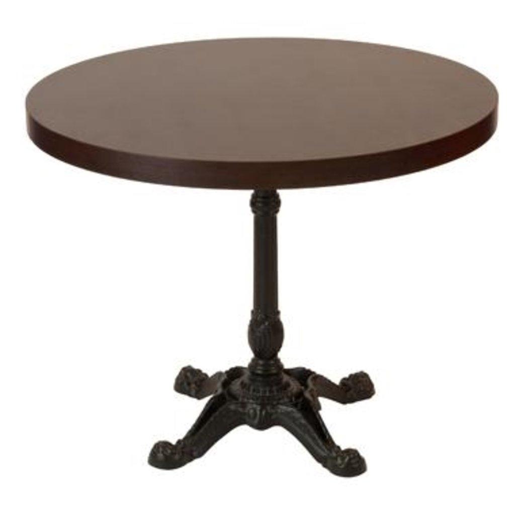 Столы для ресторана, бара, кафе, столовых: Стол круг 800, подстолья 1037 ЕМ чугун в АРТ-МЕБЕЛЬ НН