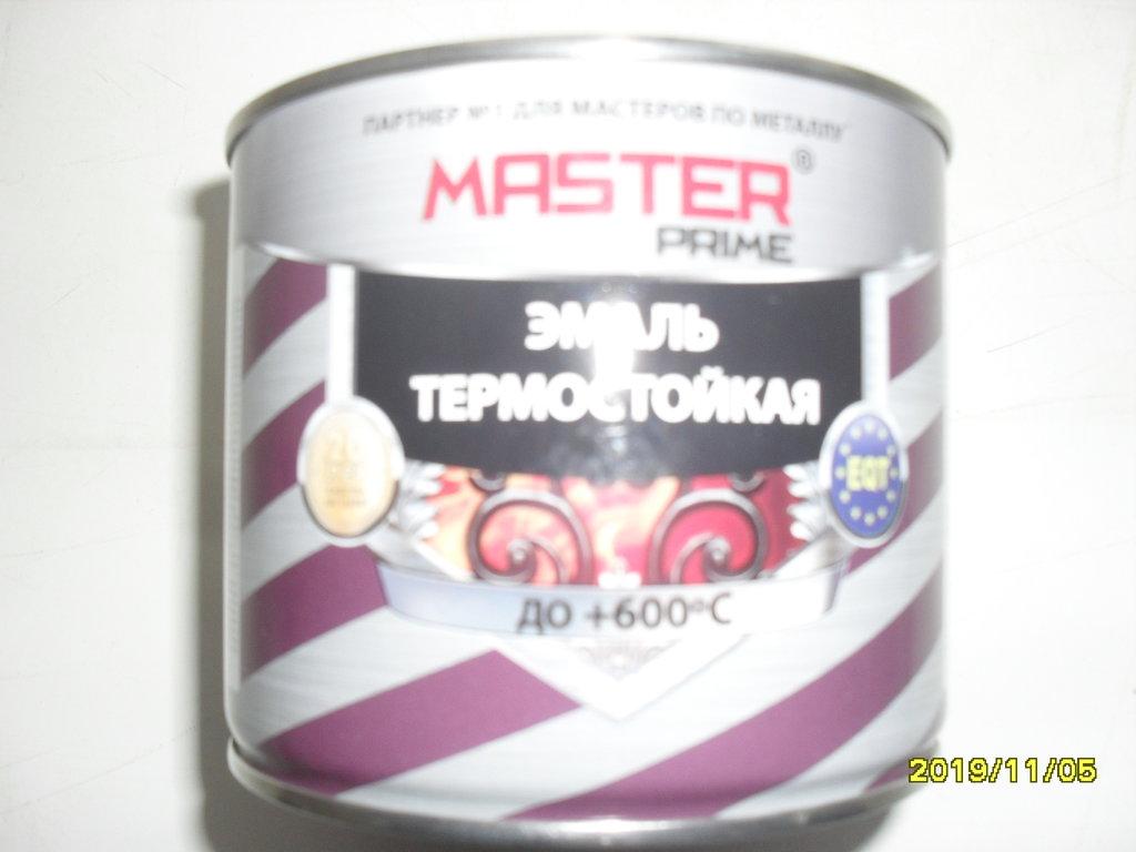 крепеж, утеплитель, обработка, прочее: эмаль по металлу термостойкая +600 t   (0,4 кг.) в Погонаж