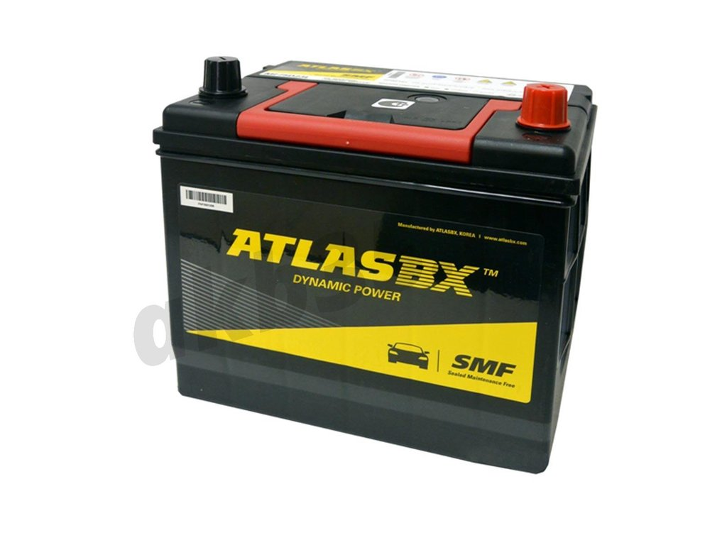 Аккумуляторы: ATLAS 60 А/ч Обратный Азия MF26R-550 в Планета АКБ