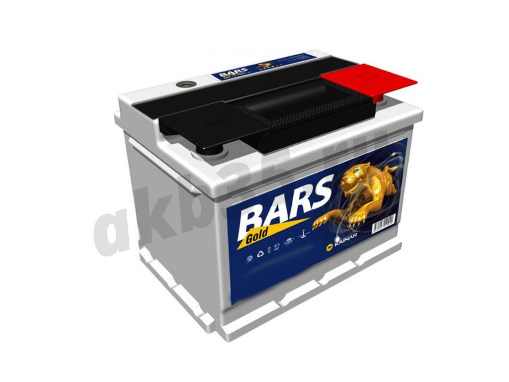 Аккумуляторы: BARS 60 а/ч /О.П./ silver низкий в Планета АКБ