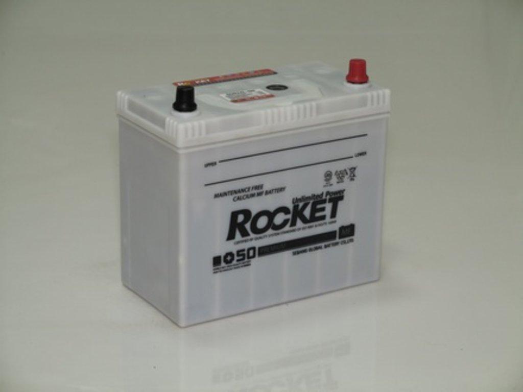 Аккумуляторы автомобильные: ROCKET MF SUPER +50 50 (65 B 24) L в Мир аккумуляторов