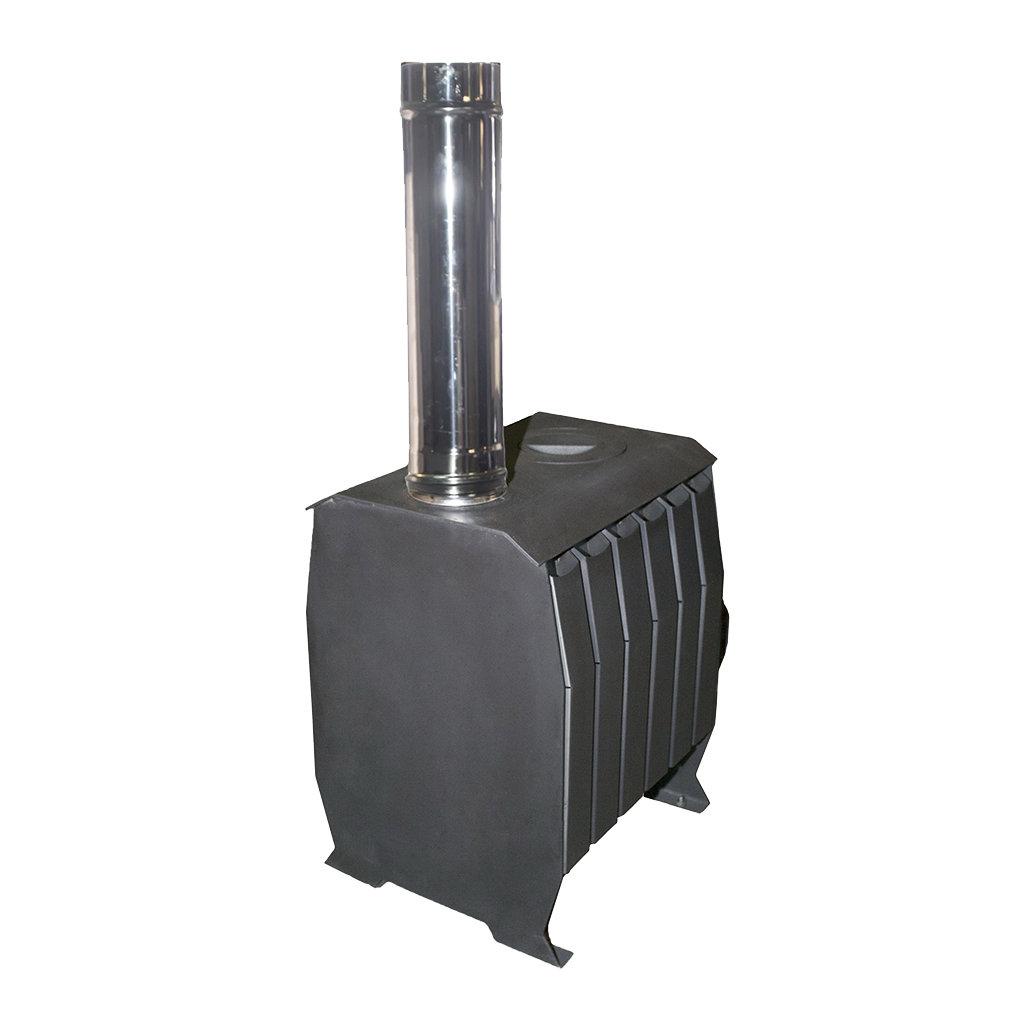 Отопительные: Печь «Теплушка В 100» с чугунной дверкой в Антиль