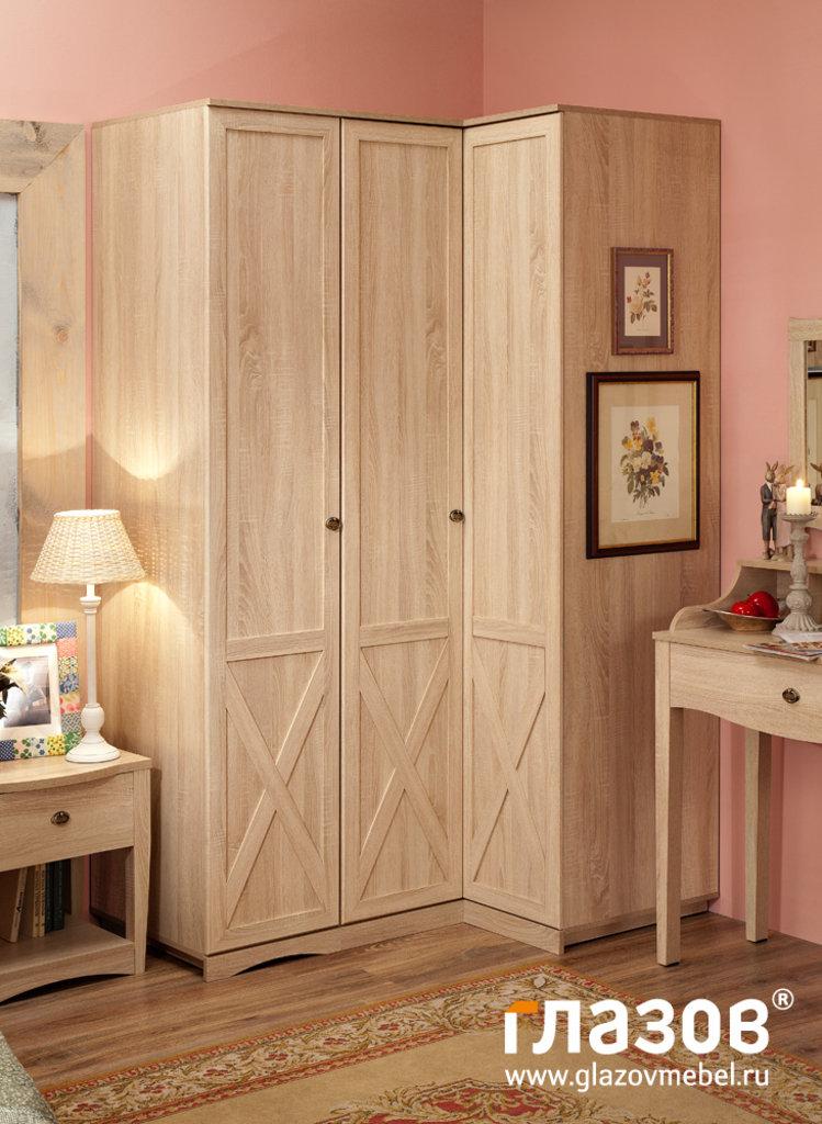 Шкафы для одежды и белья: Шкаф для белья правый ADELE 7 в Стильная мебель