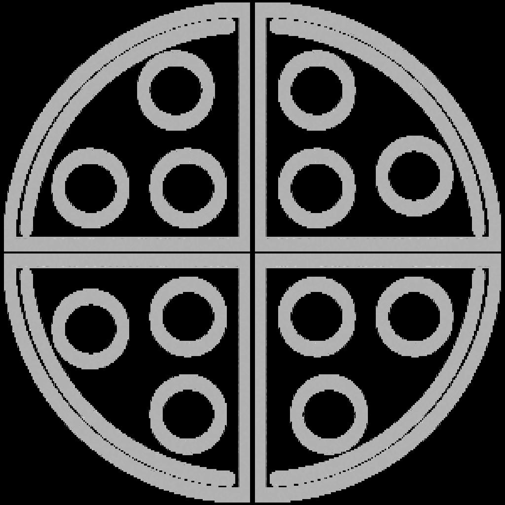 Конструктор пиццы: Пицца на Белом соусе в Сбарро