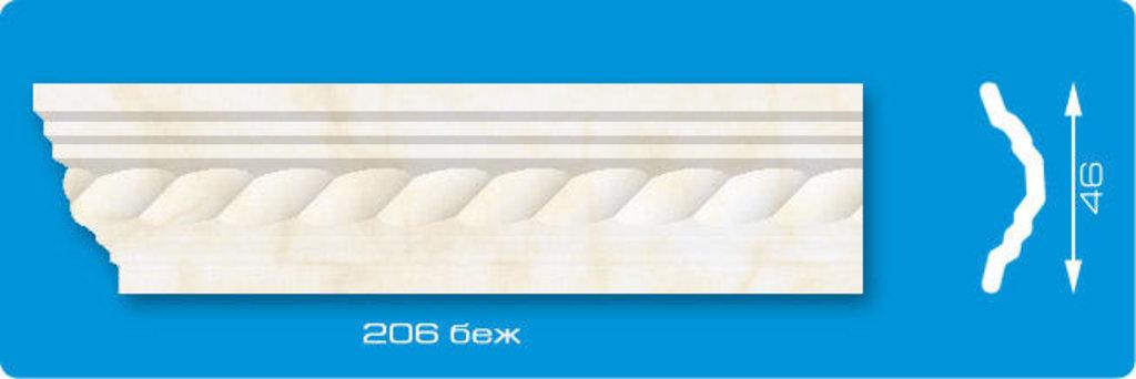 Плинтуса потолочные: Плинтус потолочный ЛАГОМ Ламинированный 206 беж экструзионный длина 2м в Мир Потолков