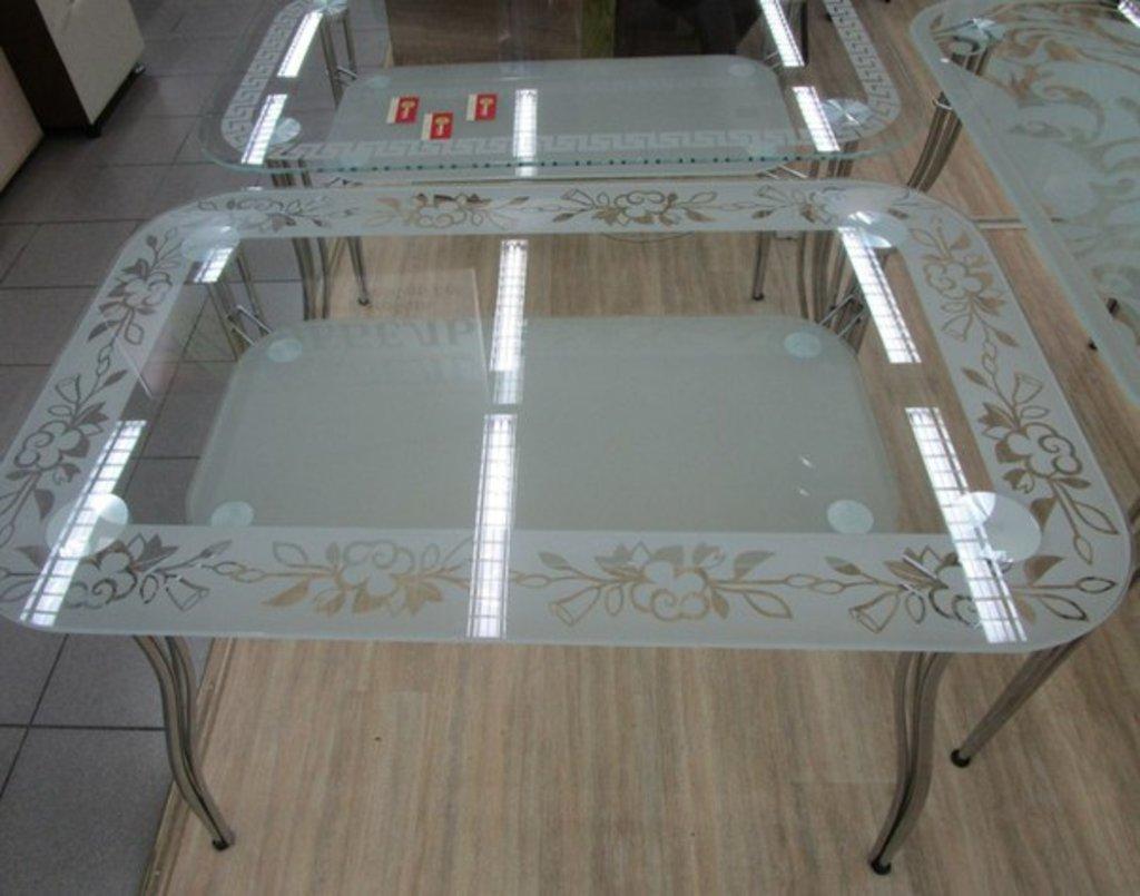 Столы: Стеклянные столы в ассортименте в Арт-Мебель