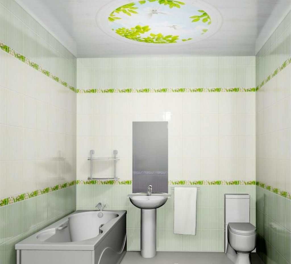 Панели Novita: Декоративный потолок Голуби NOVITA в Мир Потолков