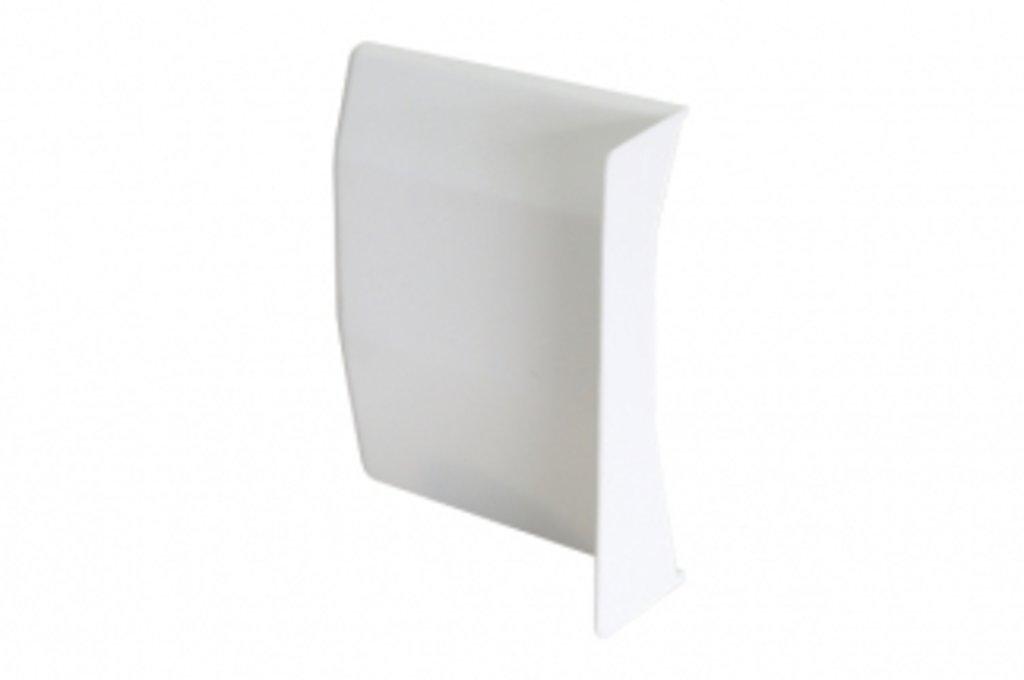 Подвеска каркасов: Крышечка декоративная для подвески арт.807 белая, левая в МебельСтрой