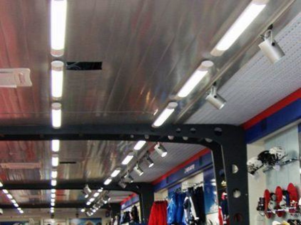 Реечные потолки: Реечный потолок CESAL 3313    150  металлик матовый в Мир Потолков