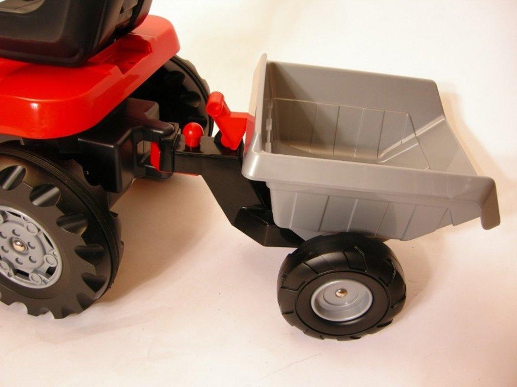 Транспорт для малышей: Каталка-трактор с педалями Turbo с полуприцепом Полесье Coloma в Игрушки Сити