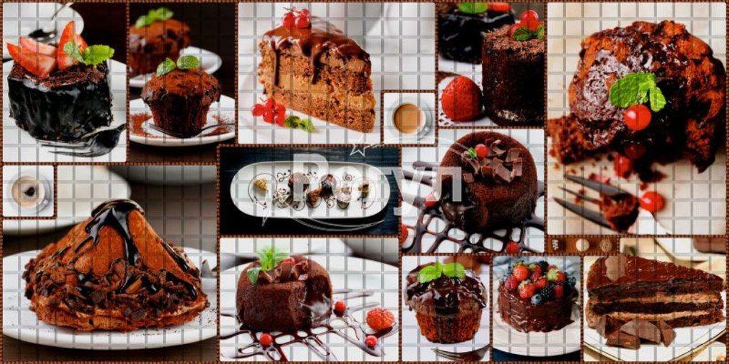 Панели ПВХ: Мозаика Десерт в Мир Потолков
