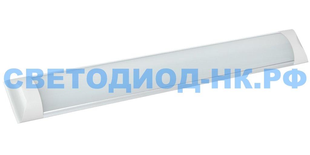 Линейные светильники: Светодиодный светильник Ecola (ЛПО 1x18) 20w (1600Lm) 4200K 600x75x25 IP20 4K LSHV20ELC в СВЕТОВОД