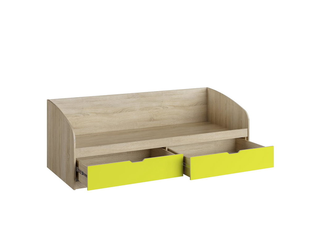 Детские и подростковые кровати: Кровать НМ 008.63-01 М1 Акварель (800х1900, усилен. настил) в Стильная мебель