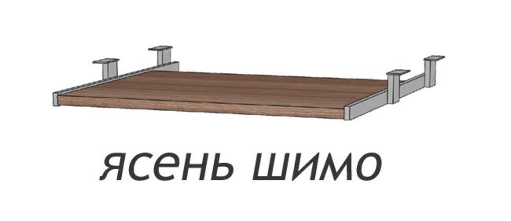 Мебельные направляющие и комплектующие: Панель для клавиатуры к столу Юниор (Линаура) в Стильная мебель