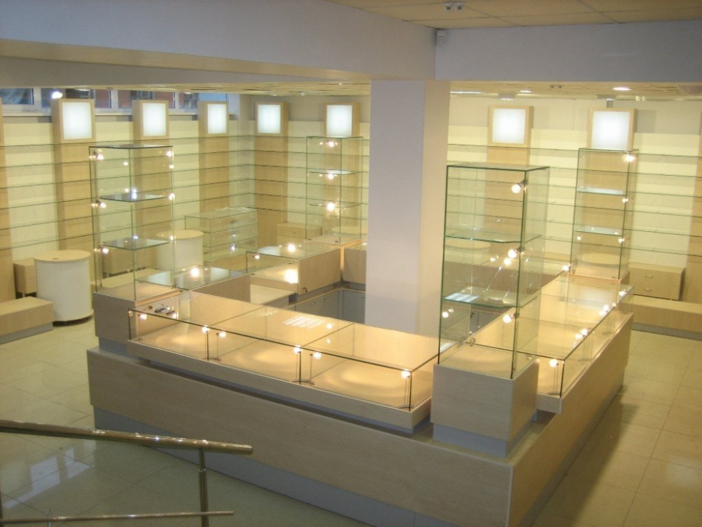 Торговое оборудование на заказ: Оборудование для отдела в Студия Мебели