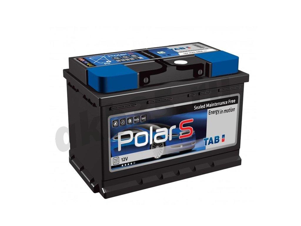 Аккумуляторы: TAB 60 А/ч Обратный Низкий POLAR S в Планета АКБ