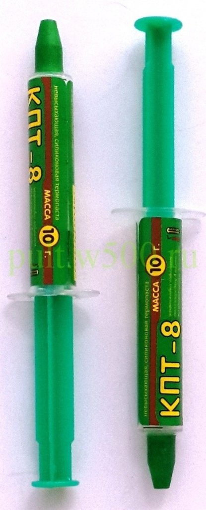 Различная Химия: Паста теплопроводная КПТ- 8 ( 10 гр. в шприце CONNEKTOR ) в A-Центр Пульты ДУ