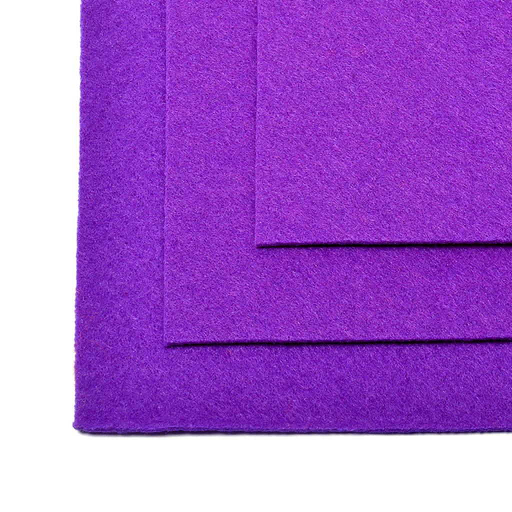 Фетр: IDEAL Фетр жёсткий 1мм 20*30см фиолетовый 1лист в Шедевр, художественный салон