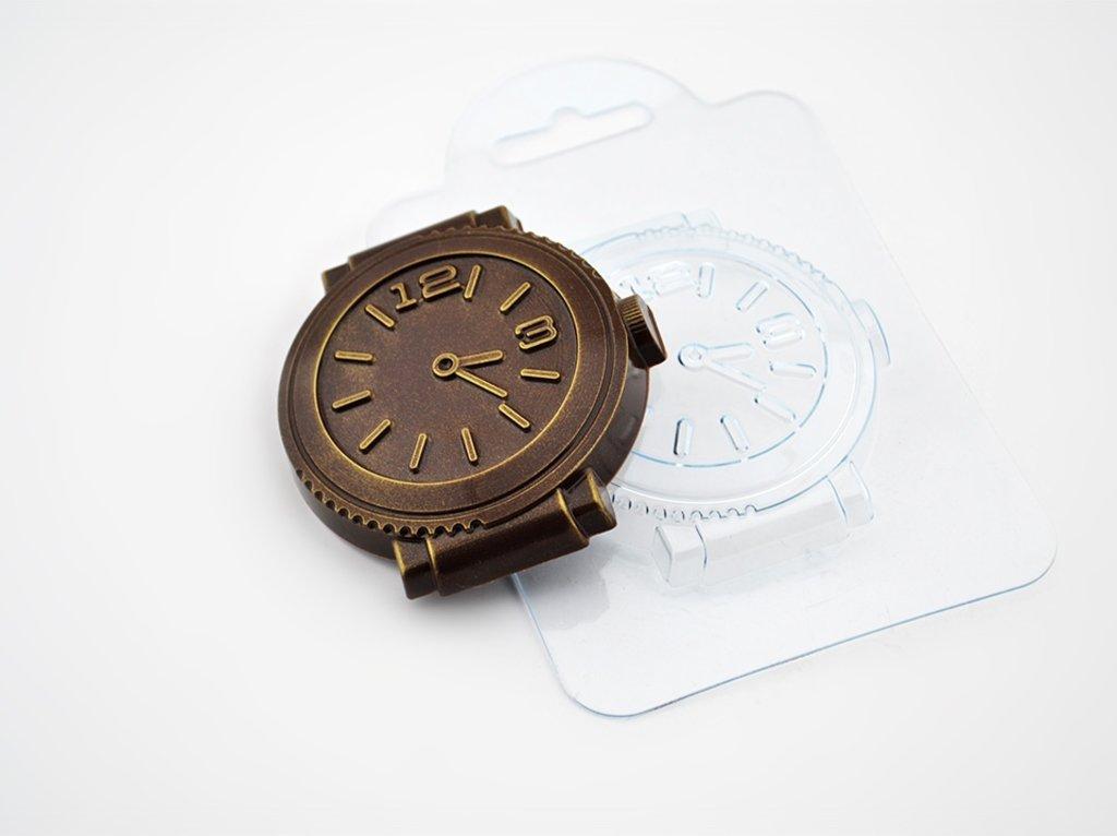 Кондитерский инвентарь: Пластиковая форма для шоколада Шоко-часы в ТортExpress