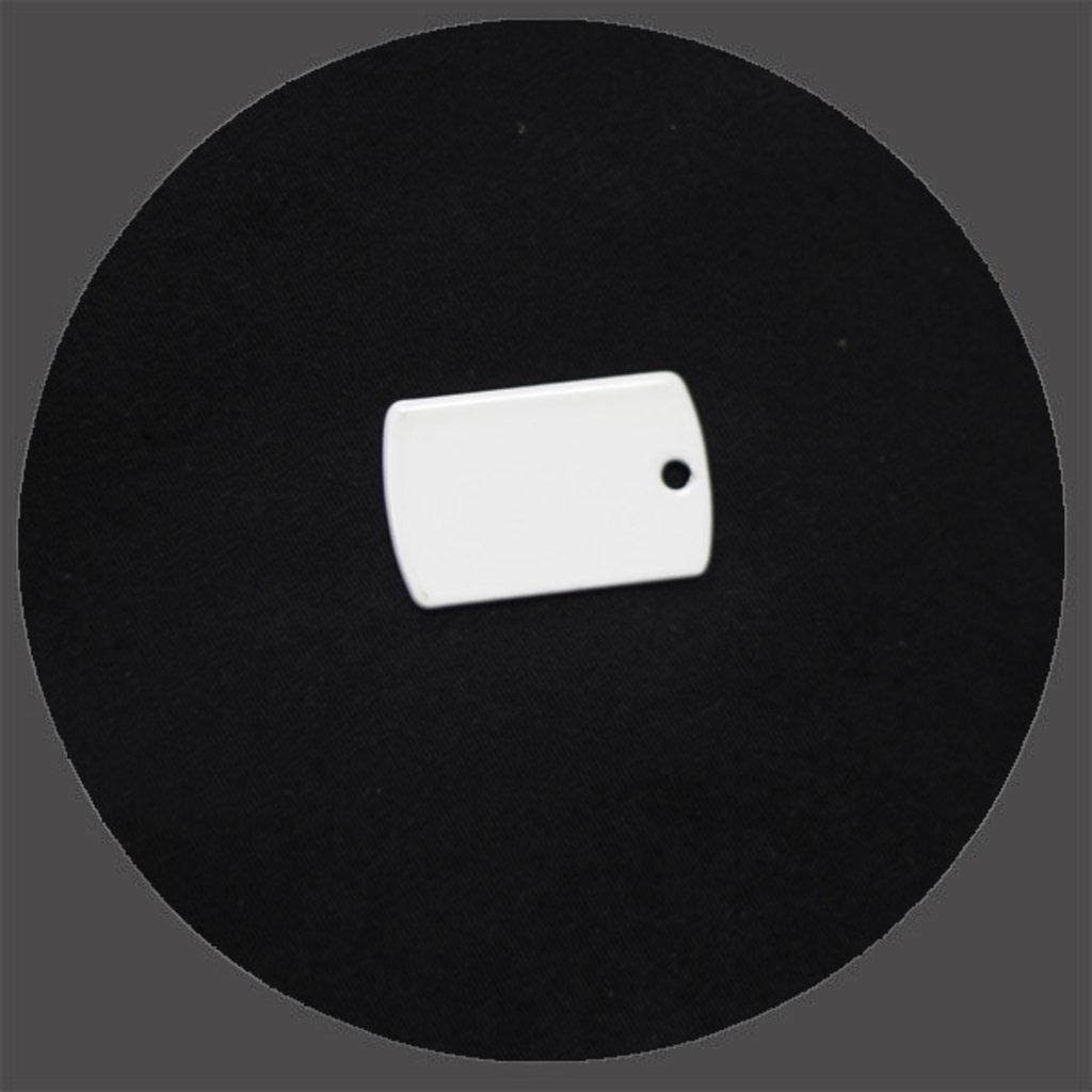 Брелоки: Брелок Армейский жетон под сублимацию в NeoPlastic