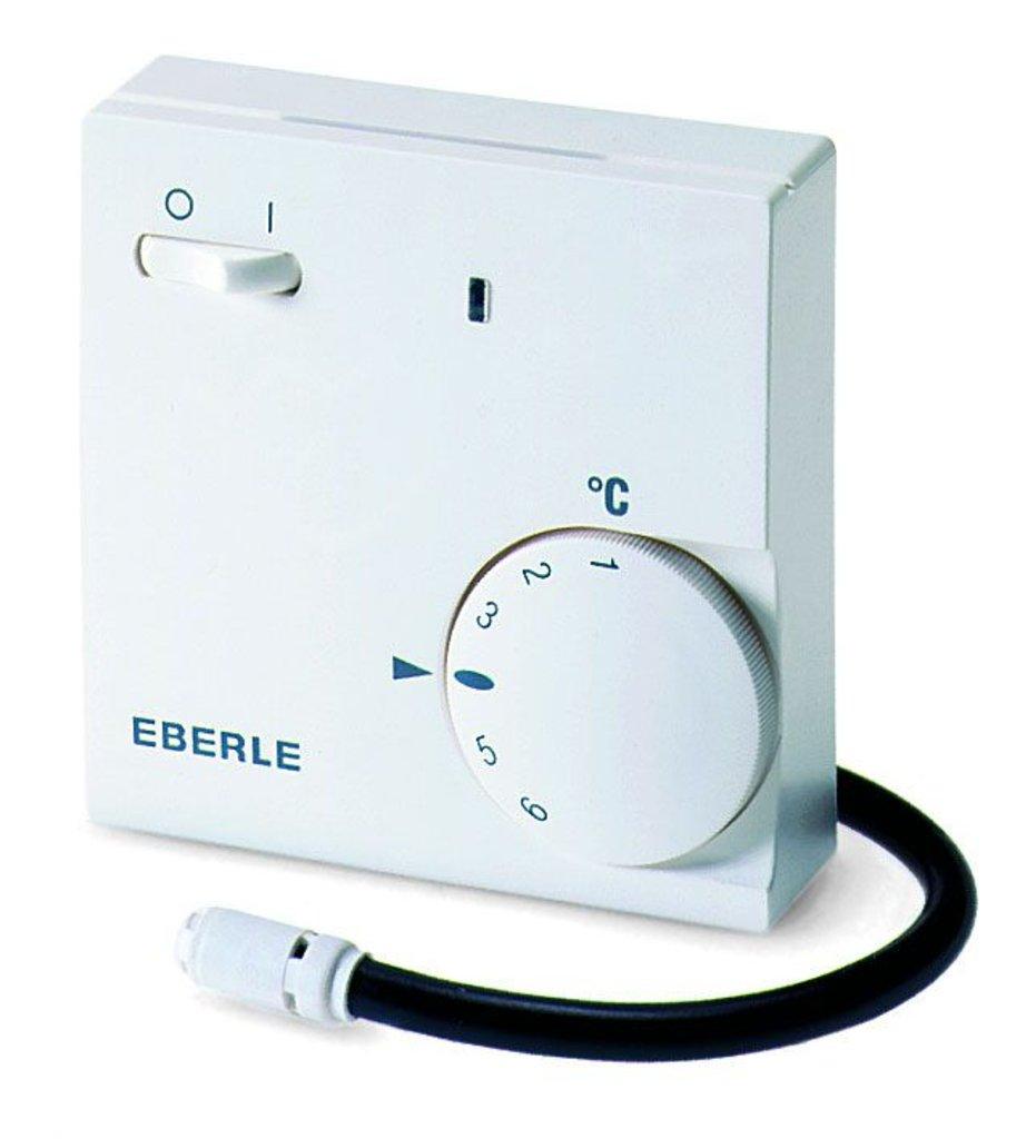 """Терморегуляторы и комплектующие: Терморегулятор """"Eberle"""" (Германия) Fre 525 31 16А в Теплолюкс-К, инженерная компания"""