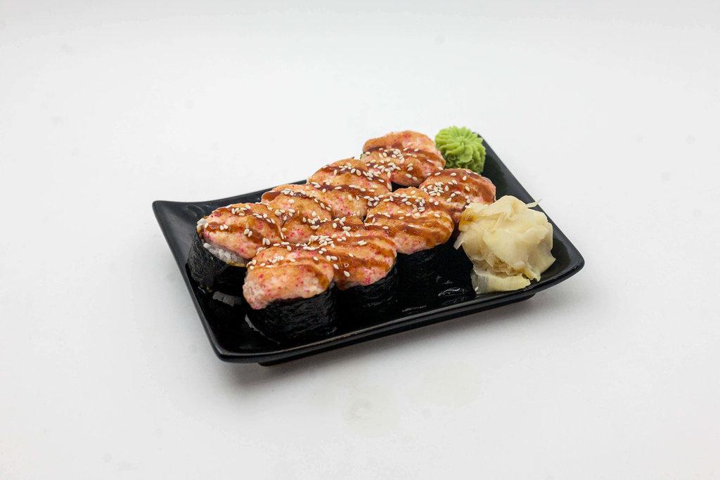 Запеченные роллы: Запечённый с курицей в Tokio
