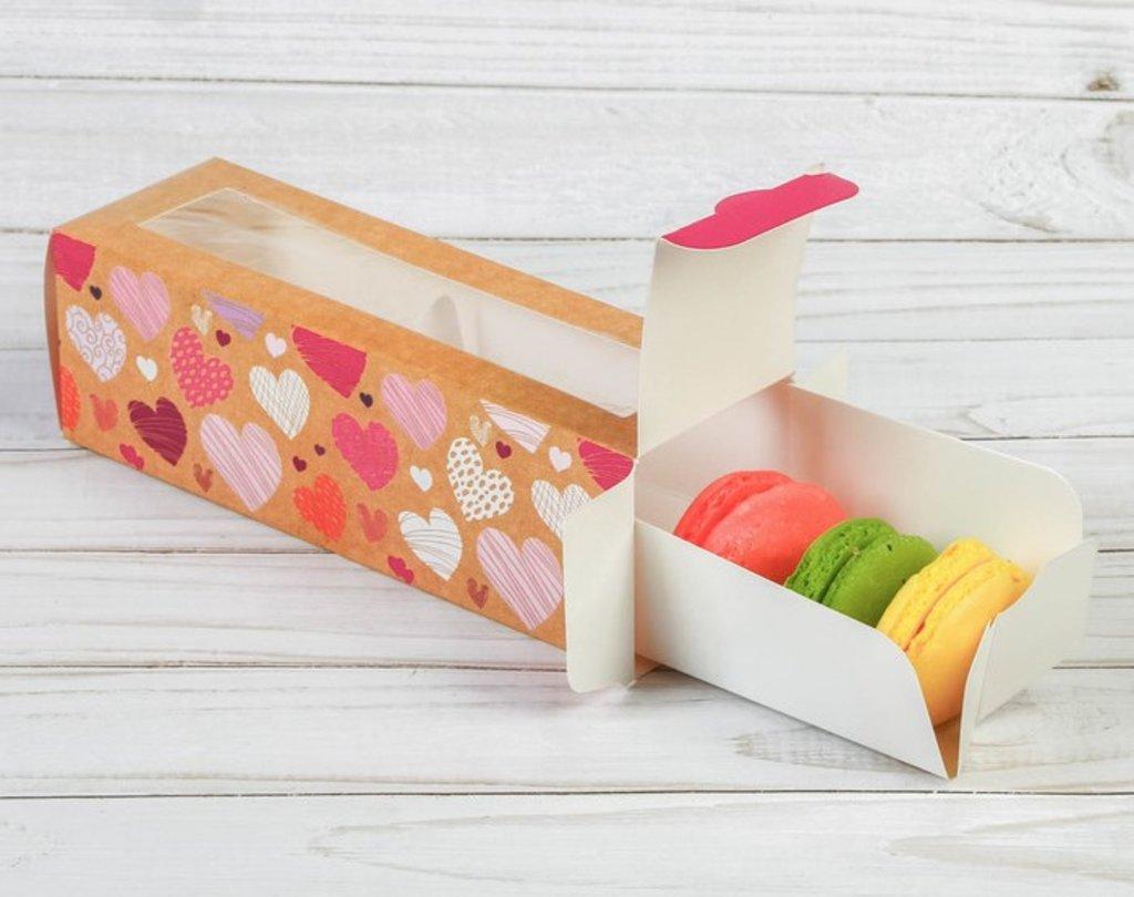 """Упаковка: Коробка для макарун  """"Моя тебе любовь"""" в ТортExpress"""