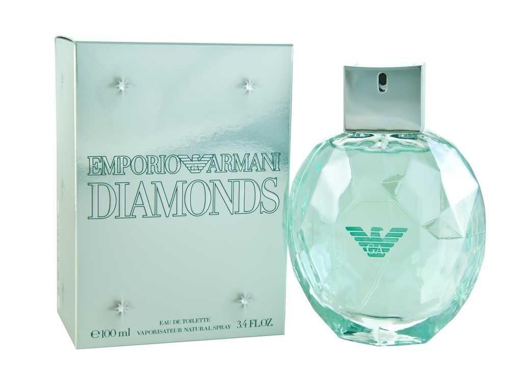 Женская туалетная вода Armani: Armani Diamonds Туалетная вода edt ж 100 ml в Элит-парфюм