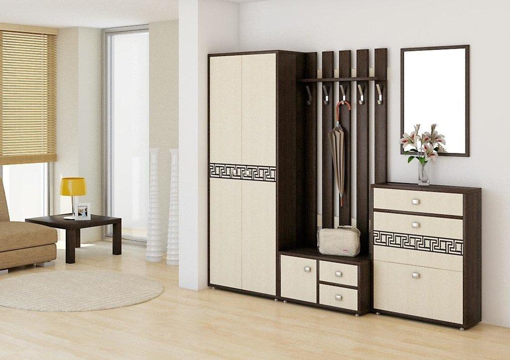 Мебель для прихожей Спарта. Модули: Зеркало Спарта СП-05 в Диван Плюс