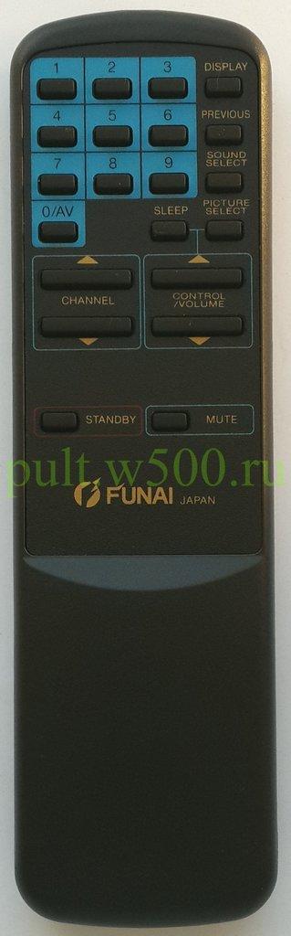 FUNAI: Пульт FUNAI MK-10 (TV) оригинал в A-Центр Пульты ДУ