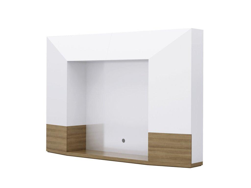 Тумбы и стойки под телевизор и аппаратуру: Стенка Вега в Стильная мебель