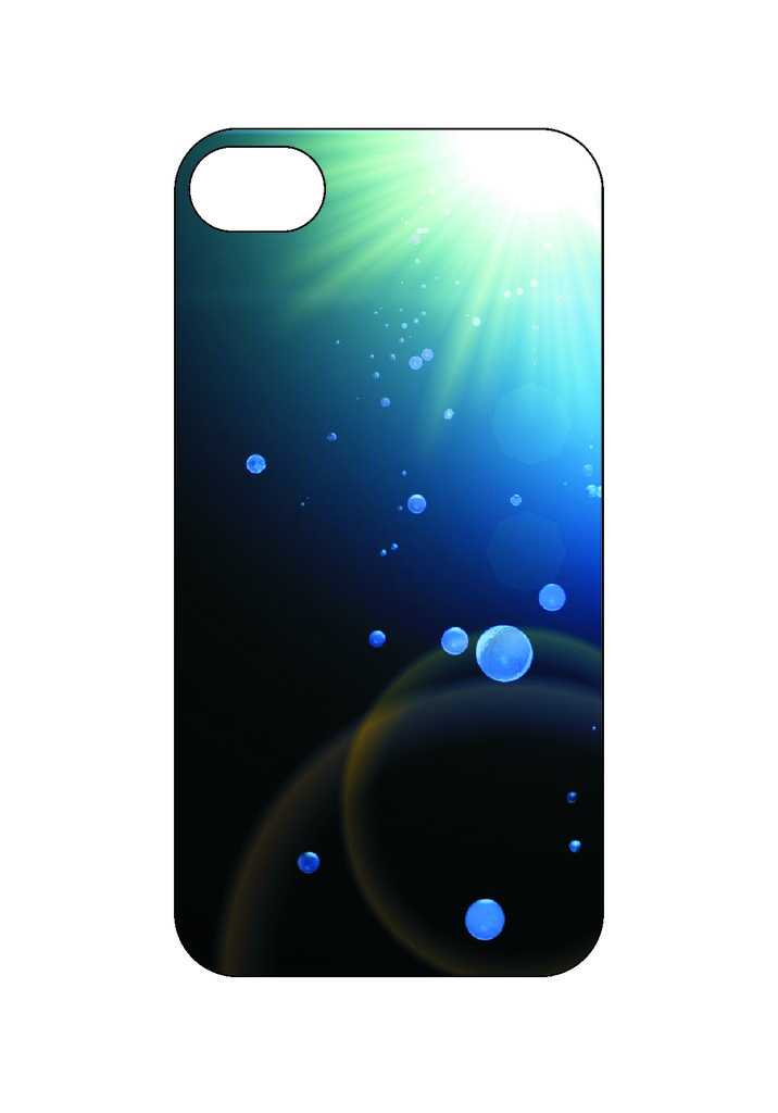 Выбери готовый дизайн для своей модели телефона: Вода в NeoPlastic