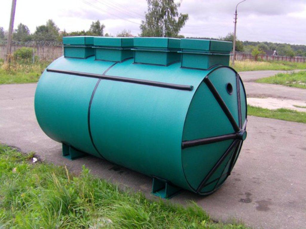 Септики «Лидер»: Септик Лидер-1,5 в Аквамарин, бурение скважин на воду в Вологде