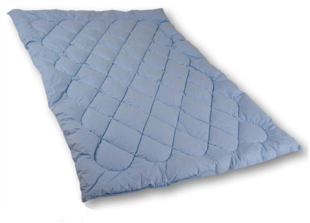 Реставрация пухо-перовых изделий: Реставрация детского одеяла (100*140) в Дрёма